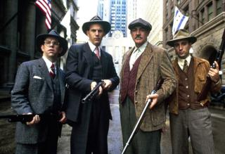 A publicity still for the film The Untouchables, 1987