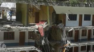 Sikh temple destroyed in North India