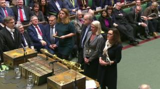 MPs announce outcome of vote