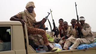 サウジ主導の有志連合に参加するスーダン軍がフダイダ近くに集結していた