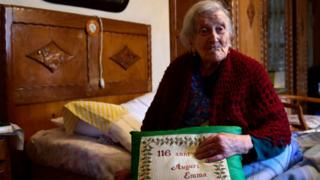 Emma Morano, a mulher mais velha do mundo