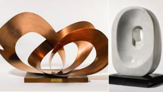Two works by Barbara Hepworth
