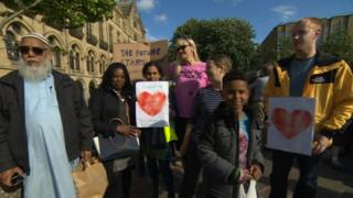 Bradford vigil