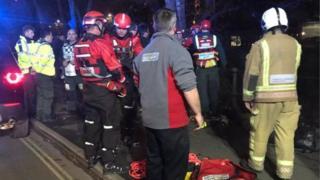 Rescue scene