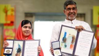 كايلاش ساتيارتي نال جائزة نوبل للسلام سنة 2014 تناصفا مع الباكستانية ملالا يوسف زاي