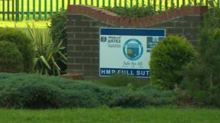 HMP Full Sutton sign