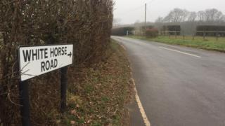 White Horse Road, Harvel