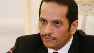 Qatari Foreign Minister Sheikh Mohammed bin Abdul Rahman Al Thani
