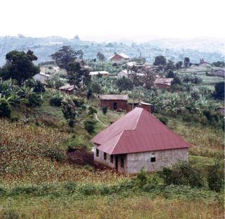 Landscape view of Rwanda