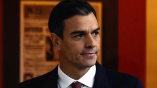 Spanish Prime Minister Pedro Sánchez