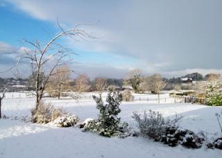 Snow in Chorley, Lancashire