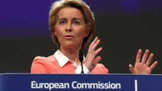 European Commission president-designate Ursula von der Leyen in Brussels, Belgium September 10, 2019