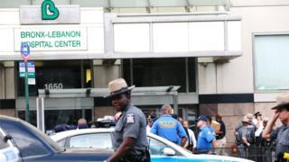 El atacante disparó con un rifle dentro del hospital e hirió a siete personas.
