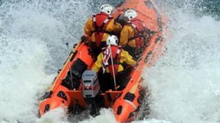 D-class inshore lifeboat