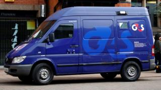 G4S van file photo