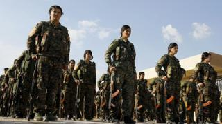 YPG öncülüğündeki SDG güçleri, Suriye'nin kuzeydoğusunu kontrol ediyor.