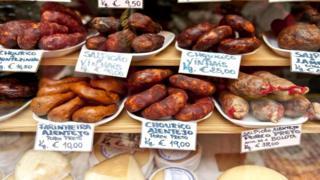 Португалия - страна, где любят колбасные изделия