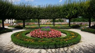 Jardín en Núremberg, Alemania