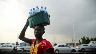 Vendor in Lagos