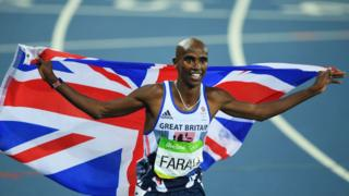 Четырехкратный олимпийский чемпион Мо Фара