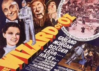 Promotional image for Wizard of oz