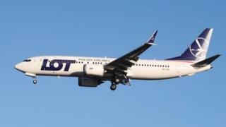 737 MAX 8 від LOT