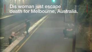 Woman wey nearly die for train for Australia