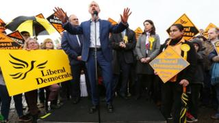 Liberal Democrat leader Tim Farron speaks during a general election campaign visit to Harts Boatyard on the banks of the river Thames in Surbiton, south London