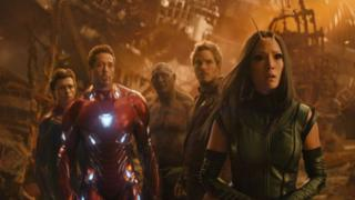 Imagen de Iron man y Spider-Man son algunos de los protagonistas de la película.
