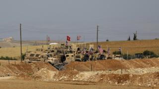 ABD ve Türk askeri Menbiç'te