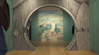 Tolkien exhibition in New York