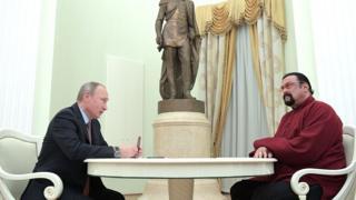 Steven Seagal ve Vladimir Putin