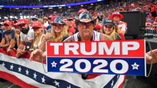 Трамп идет на выборы 2020