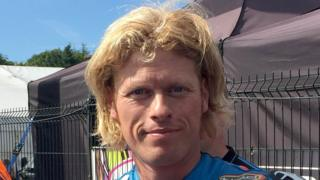 West Yorkshire rider Gavin Lupton is in a critical condition following a crash at the Dundrod 150 on Thursday
