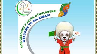 Official mascot for Turkmen Asian Indoor and Martial Arts Games