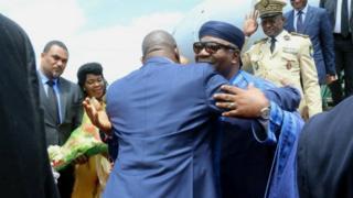 Ali Bongo aramukanya na Pierre Nkurunziza