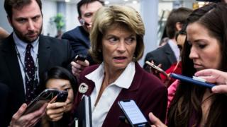 Alaska senator Lisa Murkowski has said she will vote against calling more witnesses