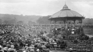 Blackburn bandstand