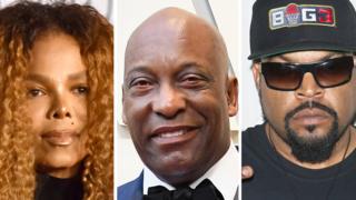 Janet Jackson, John Singleton and Ice Cube