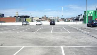 Car park on top of Woolworths, Prahran, Melbourne VIC