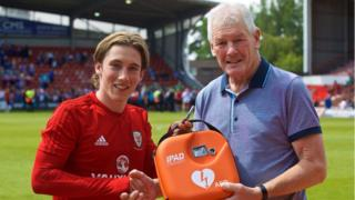 Wales player Harry Wilson