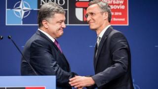 Порошенко НАТО