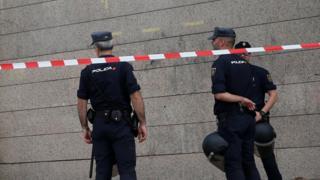 پلیس اسپانیا