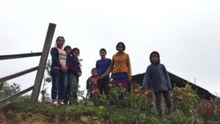 Familia en Huehuetenango