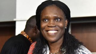 Simone Gbagbo in court