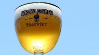 Келих бельгійського пива Trappist Westvleteren