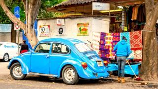Улочка в Койоакане