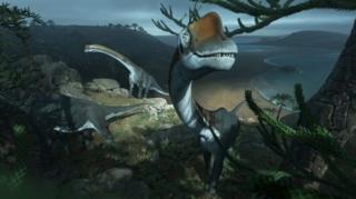 بازنمایی کامپیوتری از وویوریا دامپاریسنسیز، دایناسوری که فسیل آن بعد از چندین دهه دوباره طبقهبندی شده است