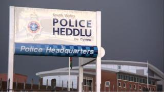 South Wales Police sign