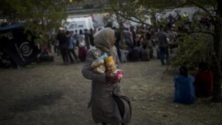 Edirne'de bir göçmen